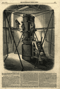 The altitude & azimuth instrument, Royal Observatory, Greenwich. Astronomy 1847
